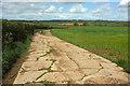 ST4711 : Concrete track near Red Stalls Farm by Derek Harper
