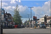 TL0121 : The centre of Dunstable by David Howard