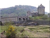 NG8825 : Eilean Donan castle by Rod Allday