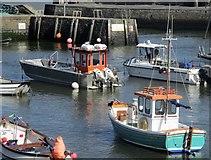 SN4562 : Harbwr Aberaeron / Aberaeron Harbour by Ceri Thomas