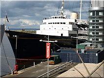 NT2677 : HMY Britannia by Andrew Abbott