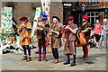 SJ4066 : Saint George's Day Musicians, Chester by Jeff Buck