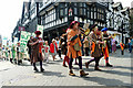 SJ4066 : Saint George's Day Parade, Chester by Jeff Buck