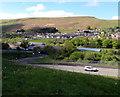 SO1205 : Idris Davies School 3-18 in the Rhymney Valley by Jaggery