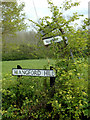 TM4778 : Roadsigns on the B1126 Wangford Hill by Adrian Cable