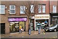 SJ9295 : Shops on Market Street by Gerald England