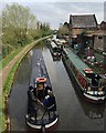 SP2865 : Boats on the canal, seen from Bridge 49, Coventry Road, Warwick by Robin Stott