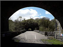 SK1273 : Chee Dale: emerging from Chee Tor Tunnel by Chris Downer