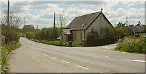 SS5726 : The Chapel, Chapelton Cross by Derek Harper