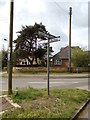 TM4977 : Signpost on Covert Road by Adrian Cable