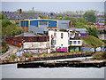 NZ3566 : Derelict Dock, River Tyne by David Dixon