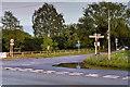 SJ8178 : Rural Road Junction at Lindow End by David Dixon