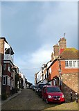 TQ9220 : Watchbell Street, Rye by Simon Carey