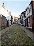 TQ9220 : West Street, Rye by Simon Carey