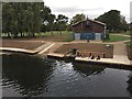 SP2965 : New landing stages for the Sea Scouts, St Nicholas Park, Warwick by Robin Stott