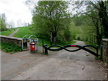 ST1599 : Entrance to Bargoed Woodland Park by Jaggery