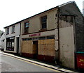 SO2508 : Boarded-up former shop, Commercial Street, Blaenavon by Jaggery