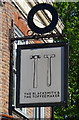 TQ3182 : Sign for the Blacksmith & The Toffeemaker pub, Clerkenwell, London EC1V by JThomas