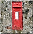 SH6076 : Edward VII post box (LL58 154) by Gerald England
