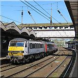 TM1543 : A Norwich train at Ipswich by John Sutton