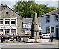 SN5748 : Grade II listed Harford Fountain, Harford Square, Lampeter by Jaggery