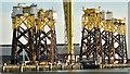 J3575 : Wind turbine parts, Harland & Wolff, Belfast  -  May 2019(1) by Albert Bridge