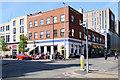 SJ8498 : Stevenson Square Dental Centre and EASTƎRN BLOC by David Dixon