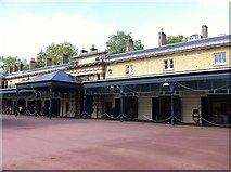 TQ2879 : The Royal Mews at Buckingham Palace by Andrew Abbott