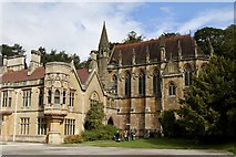 ST5071 : The Chapel at Tyntesfield by Andrew Abbott
