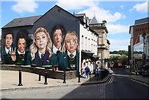 C4316 : Derry Girls mural, Derry / Londonderry by Kenneth  Allen