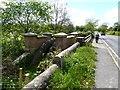 NZ1517 : A67 bridge over Alwent Beck by Oliver Dixon