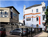 C4316 : Millennium Forum / Rainbow Cafe, Derry / Londonderry by Kenneth  Allen