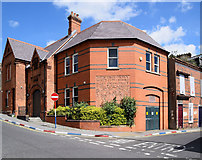 C4316 : Building along London Street, Derry / Londonderry by Kenneth  Allen