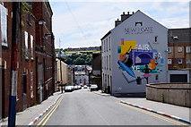 C4316 : Hawkin Street, Derry / Londonderry by Kenneth  Allen