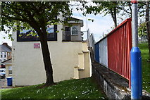 C4316 : Colourful railings, Derry / Londonderry by Kenneth  Allen