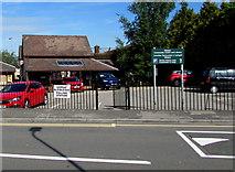 ST3090 : Pillmawr Road polling station, Malpas, Newport by Jaggery