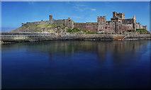 SC2484 : Peel Castle by Andy Stephenson