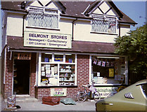 SU8064 : Belmont Stores, Newsagent, Confectionery, Off License & Greengrocer by Antony Ewart Smith