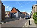 SZ4989 : Newport: up Crocker Street by John Sutton