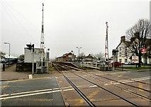 SH5639 : Porthmadog Station by Gerald England