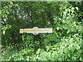 TL9496 : Great Eastern Pingo Trail sign by David Pashley