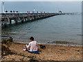 SZ3589 : Yarmouth Pier, Isle of Wight by Robin Drayton