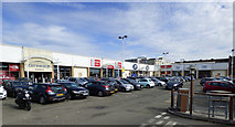 NS5566 : West End Retail Park by Thomas Nugent