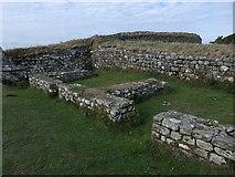 NY7868 : Interior of Milecastle 37, Hadrian's Wall by Rudi Winter
