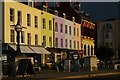 TR3571 : Colourful houses on The Parade, Margate by Christopher Hilton