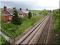 NY0374 : Racks railway station (site), Dumfries & Galloway by Nigel Thompson