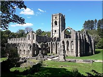 SE2768 : Fountains Abbey by Anthony Parkes