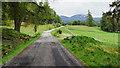 NO1891 : Road on Invercauld estate by Trevor Littlewood