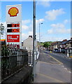 ST3089 : Shell fuel prices on May 27th 2019, Crindau, Newport by Jaggery