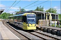 SD7807 : Metrolink Tram at Radcliffe by David Dixon